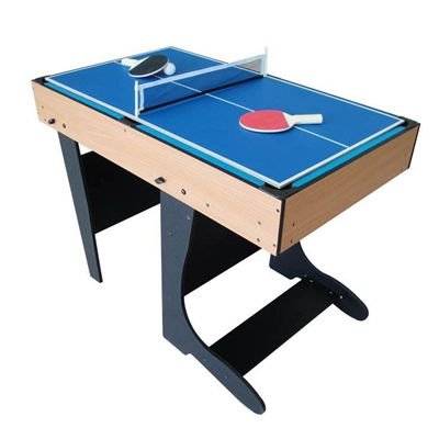 Riley 4ft 21 in 1  Folding Multi Games Table Table Tennis