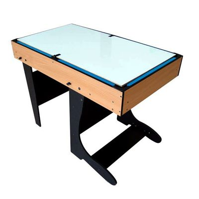 Riley 4ft 21 in 1  Folding Multi Games Table WhiteBoard