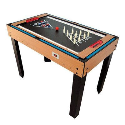 Riley 4ft 21 in 1 Multi Games Table Bowling Shuffle