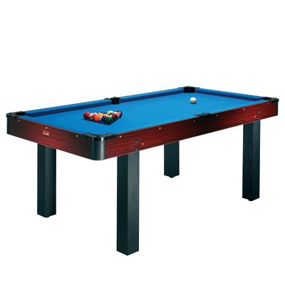 Rosewood 6ft Pool Table with Table Tennis and Desktop - Pool Table