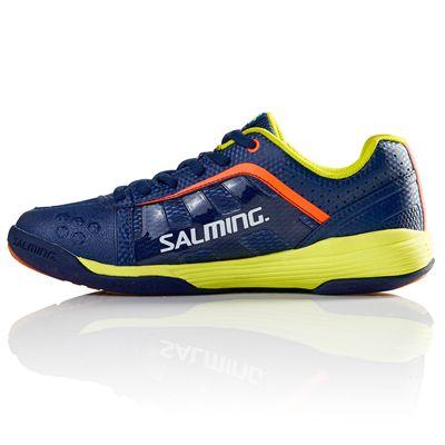 Salming Adder Junior Indoor Court Shoes - Left Side