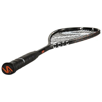 Salming Cannone Feather Aero Vectran Squash Racket Double Pack AW18 - Angled