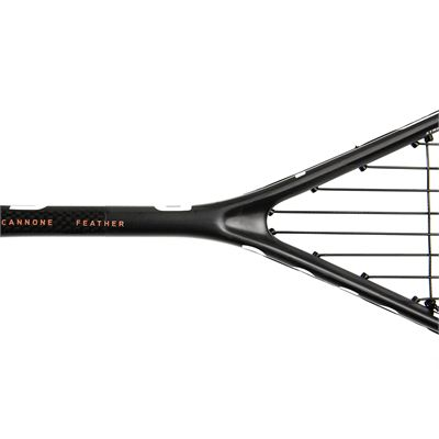 Salming Cannone Feather Aero Vectran Squash Racket Double Pack AW18 - Zoom