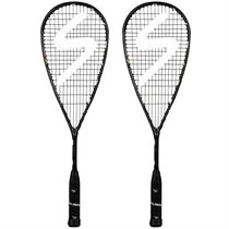 Salming Cannone Feather Aero Vectran Squash Racket Double Pack