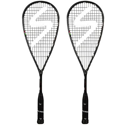Salming Cannone Feather Aero Vectran Squash Racket Double Pack AW18