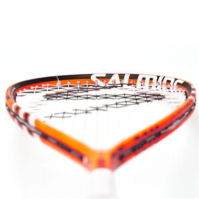 Salming Fusione Pro Aero Vectran Squash Racket Double Pack - Angle