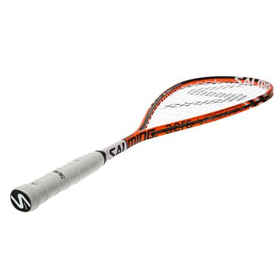 Salming Cannone Feather Aero Vectran Squash Racket - Angled