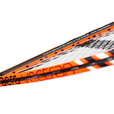 Salming Cannone Feather Aero Vectran Squash Racket - Frame2