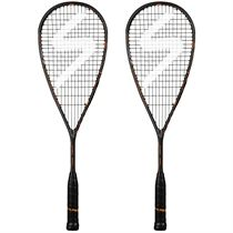 Salming Cannone PowerLite Squash Racket Double Pack