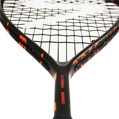 Salming Cannone PowerLite Squash Racket - Angle4