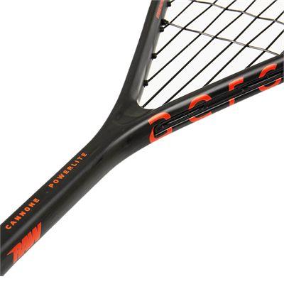Salming Cannone PowerLite Squash Racket - Angled