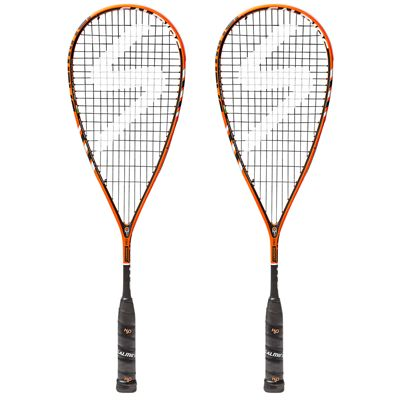 Salming Cannone Pro Aero Vectran Squash Racket Double Pack