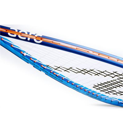 Salming Cannone Slim Aero Squash Racket Double Pack - Slant