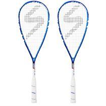 Salming Cannone Slim Aero Squash Racket Double Pack
