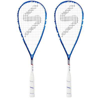 Salming Cannone Slim Aero Squash Racket Double Pack