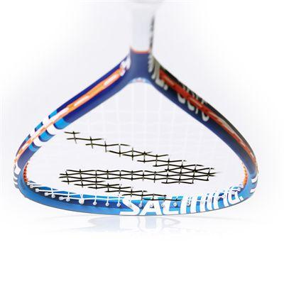 Salming Cannone Slim Aero Squash Racket - Frane