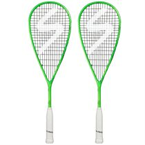 Salming Cannone Squash Racket Double Pack