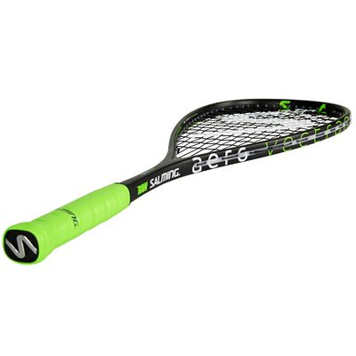 Salming Forza Pro Aero Vectran Squash Racket Aw18 - Angled