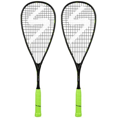 Salming Forza Pro Aero Vectran Squash Racket Double Pack AW18