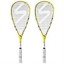 Salming Forza Pro Aero Vectran Squash Racket Double Pack