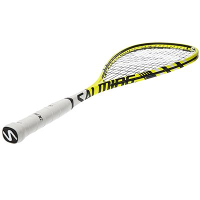 Salming Forza Pro Aero Vectran Squash Racket - Angled