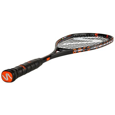 Salming Fusione Feather Aero Vectran Squash Racket AW18 - Angled
