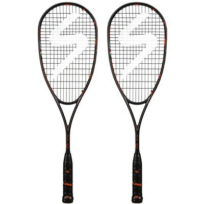 Salming Fusione Feather Aero Vectran Squash Racket Double Pack AW18