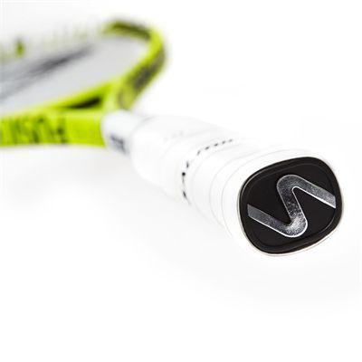 Salming Fusione Feather Aero Vectran Squash Racket Double Pack - Slant - Grip