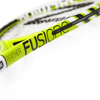 Salming Fusione Feather Aero Vectran Squash Racket Double Pack - Slant - Side