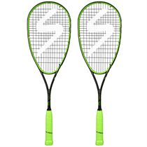 Salming Fusione PowerLite Squash Racket Double Pack