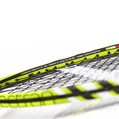 Salming Fusione Pro Aero Vectran Squash Racket Double Pack - Zoomed