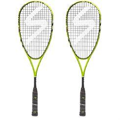 Salming Fusione Pro Aero Vectran Squash Racket Double Pack