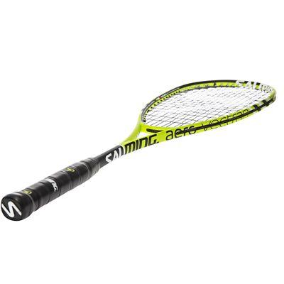 Salming Fusione Pro Aero Vectran Squash Racket - Angled