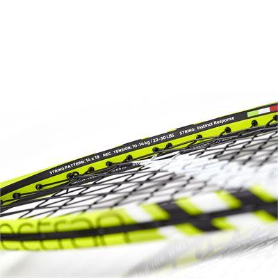 Salming Fusione Pro Aero Vectran Squash Racket - Frame2Salming Fusione Pro Aero Vectran Squash Racket - Frame3