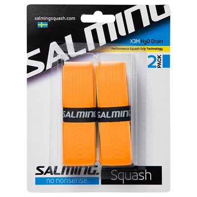 Salming H2O Drain Grip Replacement Grip - Pack of 2
