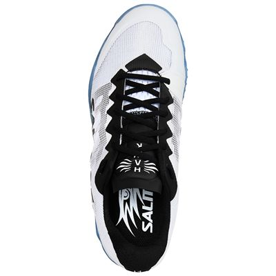 Salming Hawk Mens Indoor Court Shoes - White - Above