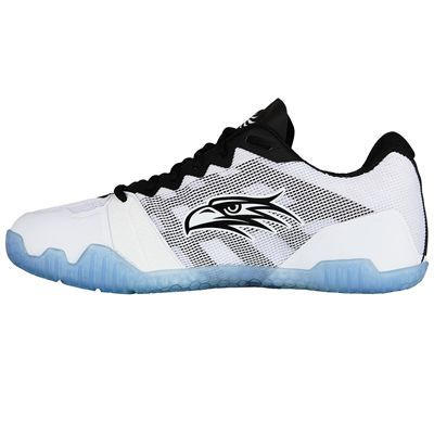 Salming Hawk Mens Indoor Court Shoes - White - Side