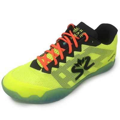 Salming Hawk Mens Indoor Court Shoes AW19 - Yellow/Black