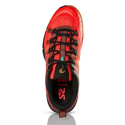 Salming Kobra 2 Mens Indoor Court Shoes AW19 - Red - Above