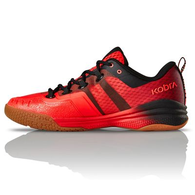 Salming Kobra 2 Mens Indoor Court Shoes AW19 - Red - Side
