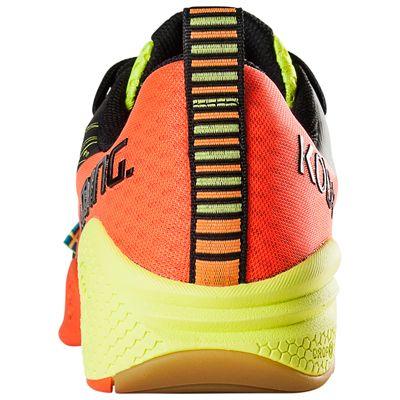 Salming Kobra Mens Court Shoes-Red-Black-Back