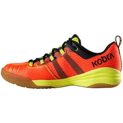 Salming Kobra Mens Court Shoes-Red-Black-Side