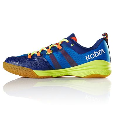 Salming Kobra Mens Indoor Court Shoes - Royal - Side