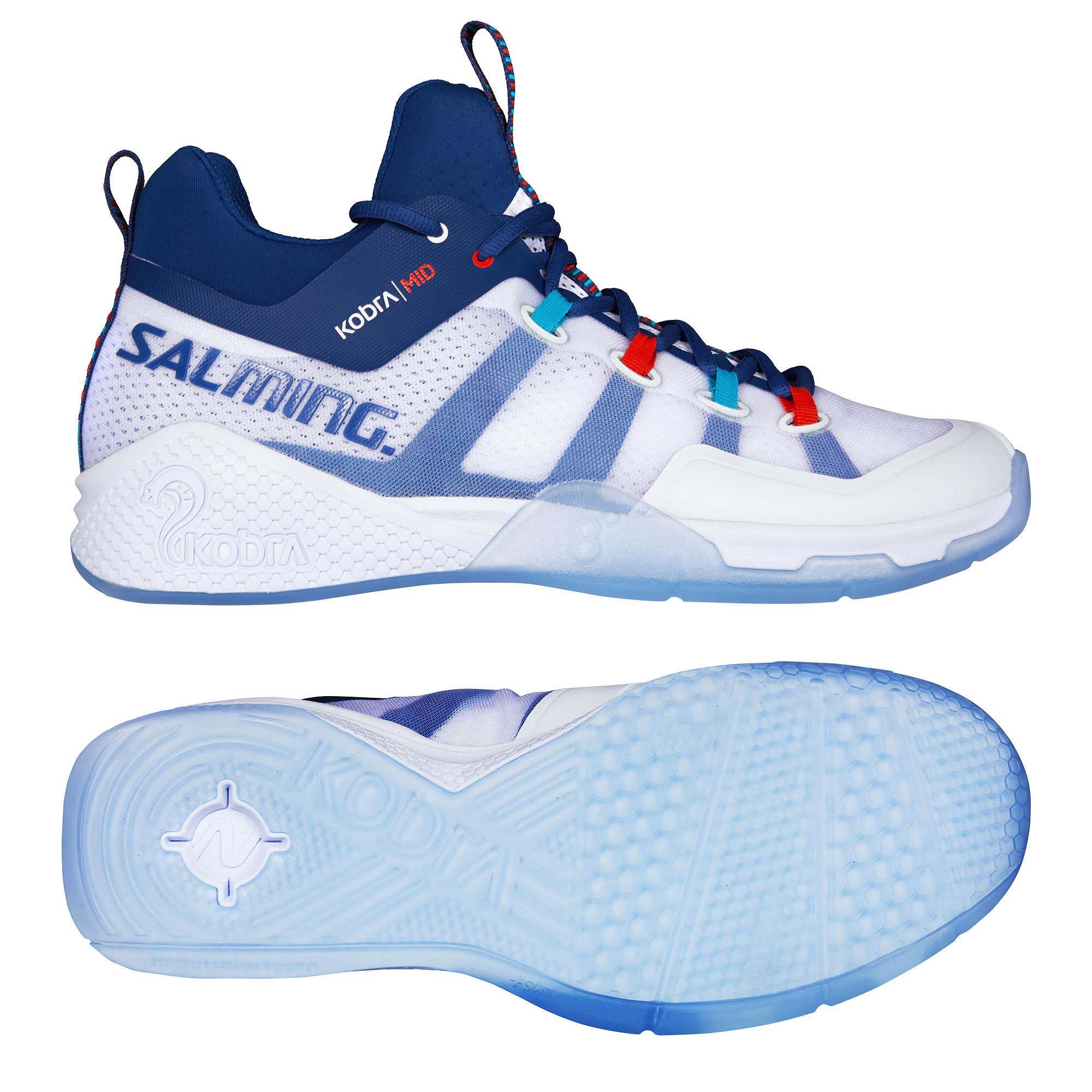 Salming Kobra Mid 2 Mens Indoor Court Shoes - 9 UK