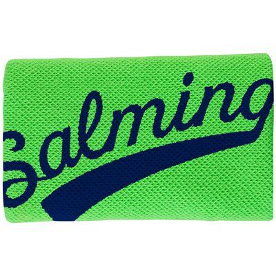 Salming Long Wristband-Green-Navy