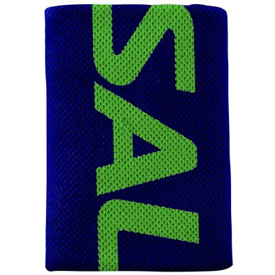 Salming Mid Wristband-Navy-Green