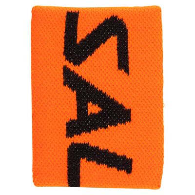 Salming Mid Wristband-Orange-Black