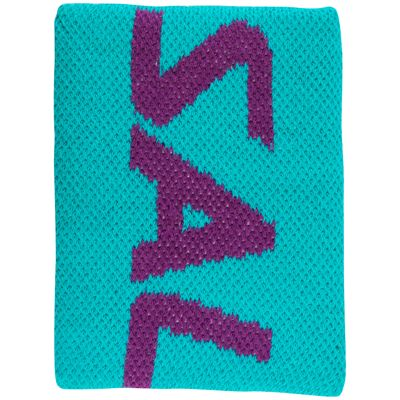 Salming Mid Wristband-Turquoise-Purple