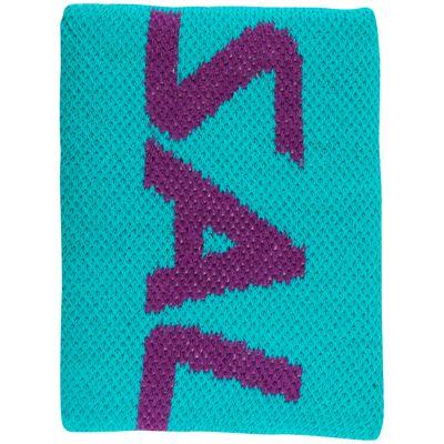 Salming Mid Wristband-Turquoise-Purple