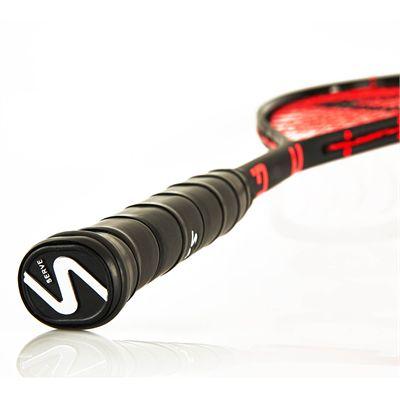 Salming PowerRay Squash Racket - Bottom